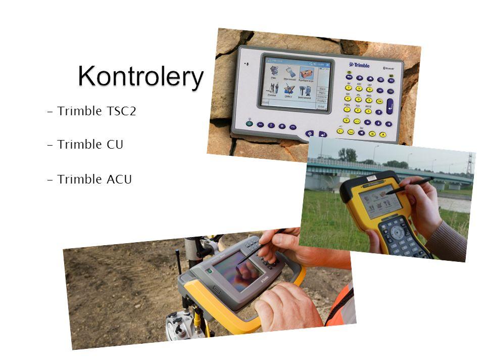 Kontrolery - Trimble TSC2 - Trimble CU - Trimble ACU