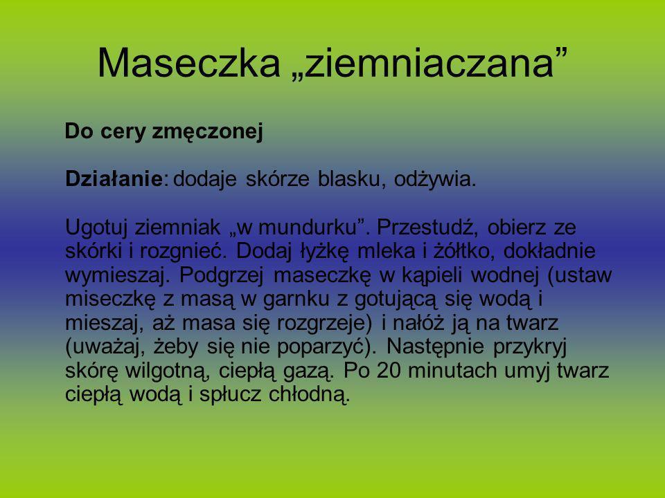 """Maseczka """"ziemniaczana"""