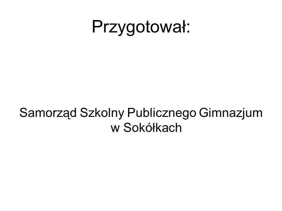 Samorząd Szkolny Publicznego Gimnazjum w Sokółkach