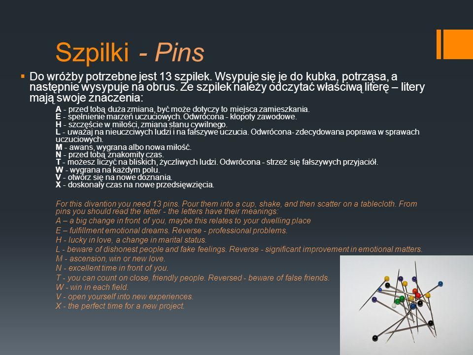 Szpilki - Pins