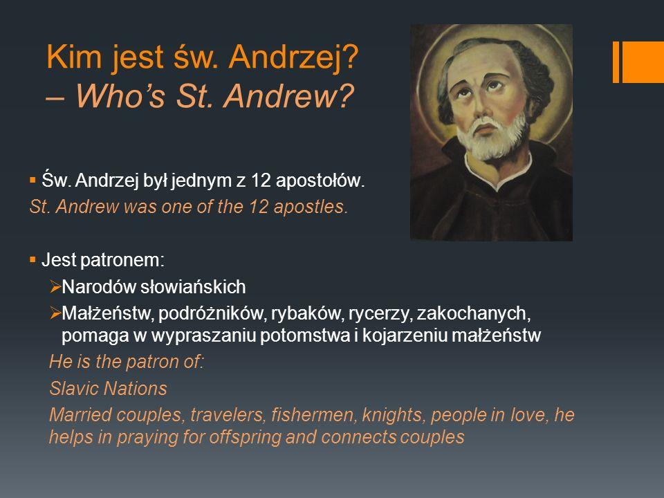 Kim jest św. Andrzej – Who's St. Andrew