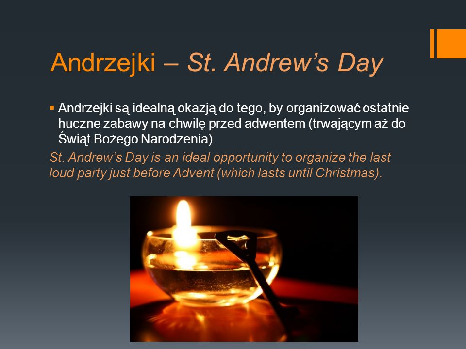 Andrzejki – St. Andrew's Day
