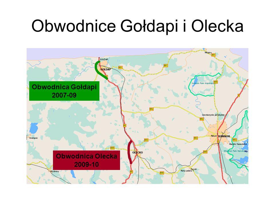 Obwodnice Gołdapi i Olecka