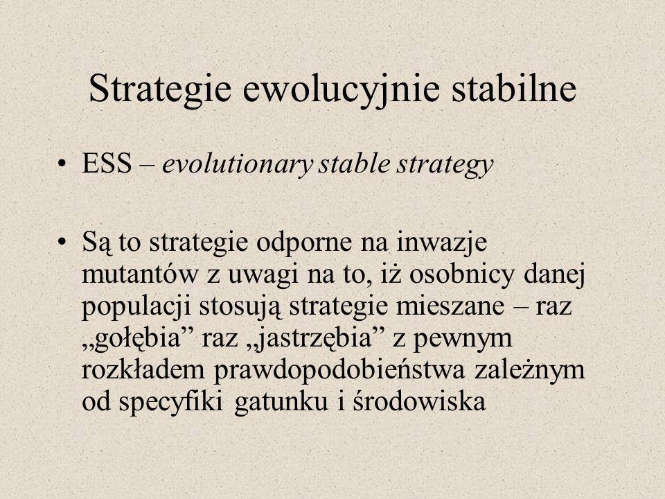 Strategie ewolucyjnie stabilne