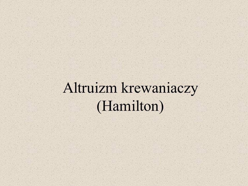 Altruizm krewaniaczy (Hamilton)