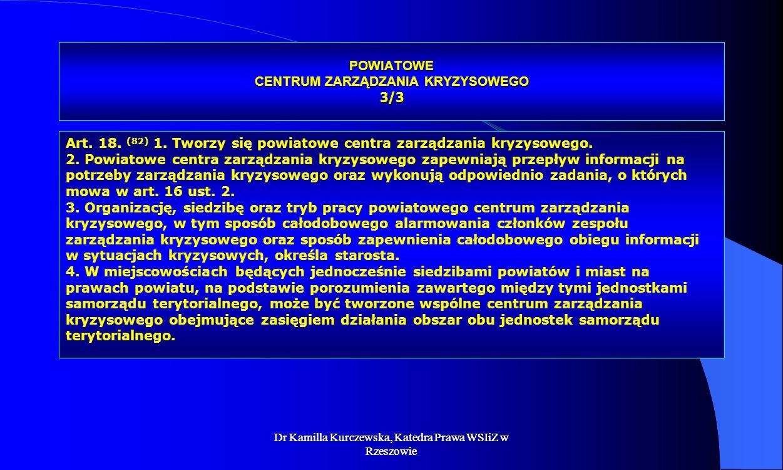 POWIATOWE CENTRUM ZARZĄDZANIA KRYZYSOWEGO 3/3