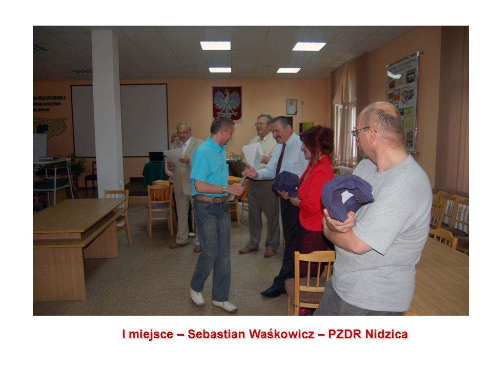 I miejsce – Sebastian Waśkowicz – PZDR Nidzica