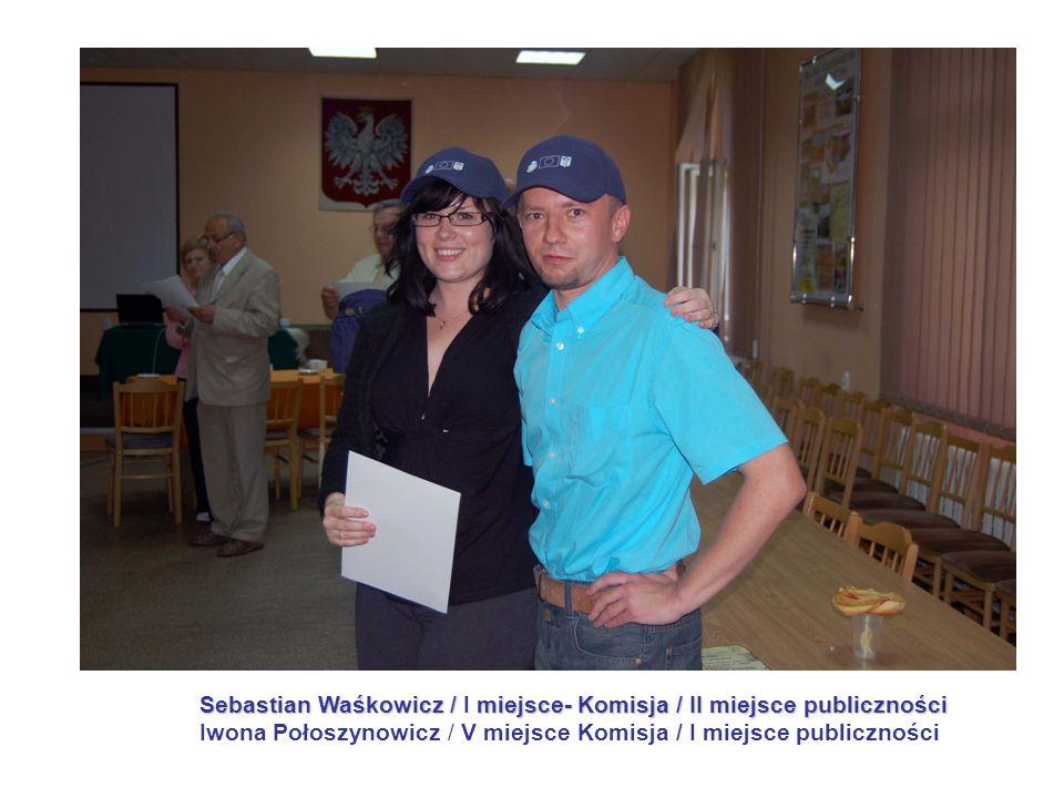 Sebastian Waśkowicz / I miejsce- Komisja / II miejsce publiczności