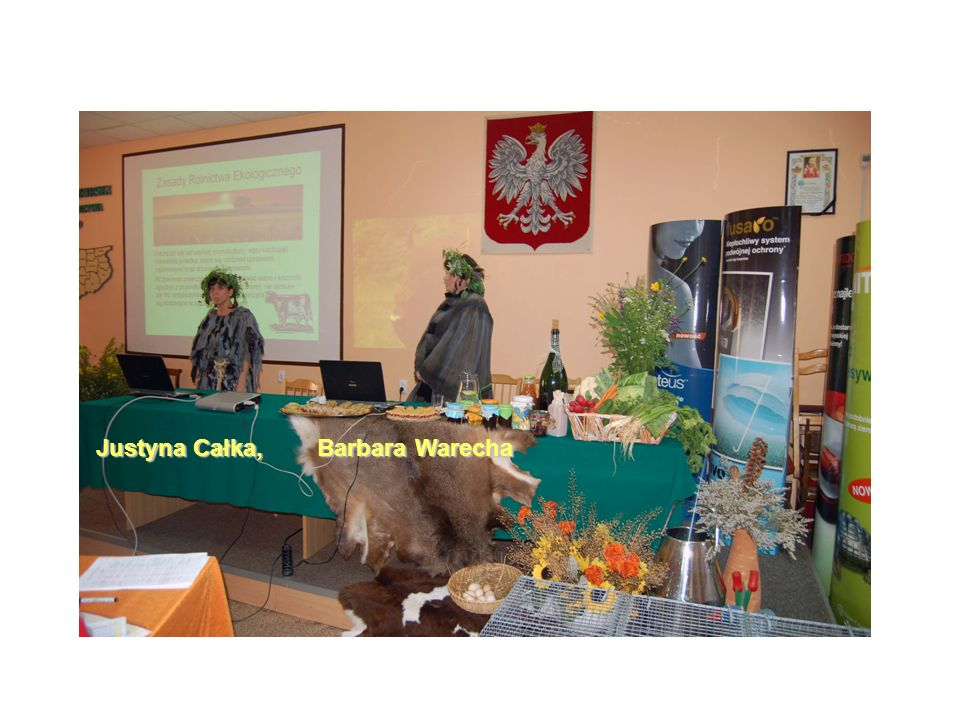 Justyna Całka, Barbara Warecha