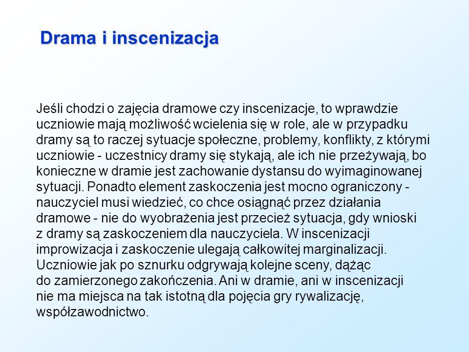 Drama i inscenizacja
