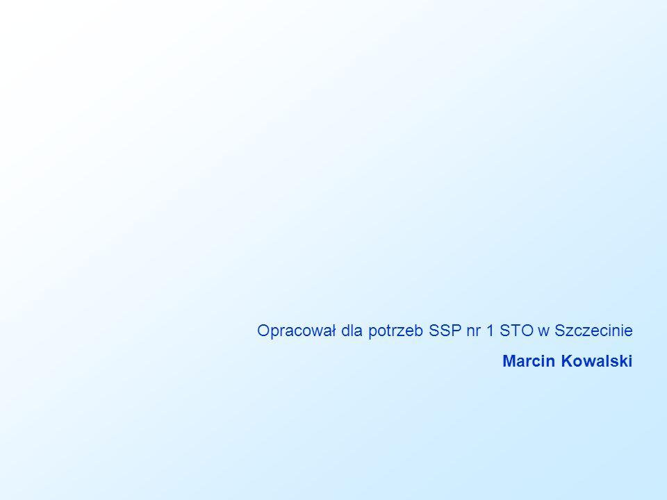 Opracował dla potrzeb SSP nr 1 STO w Szczecinie