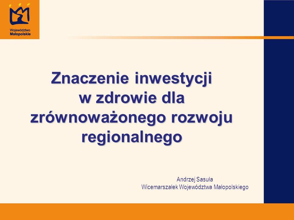 Znaczenie inwestycji w zdrowie dla zrównoważonego rozwoju regionalnego