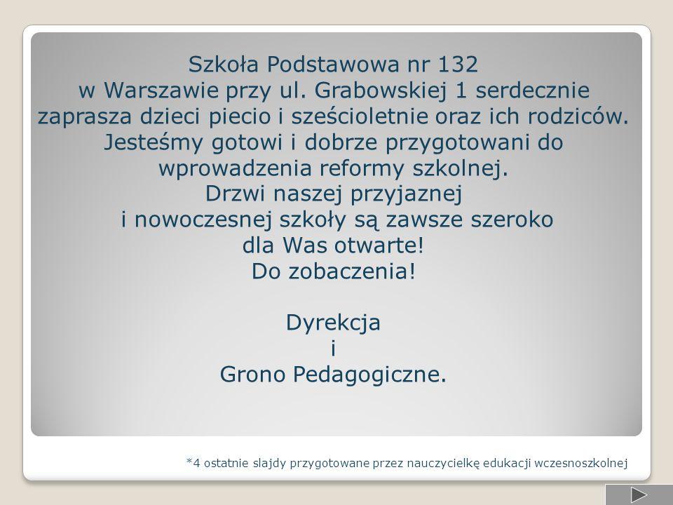 Szkoła Podstawowa nr 132 w Warszawie przy ul