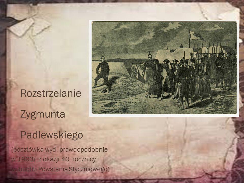 Rozstrzelanie Zygmunta Padlewskiego