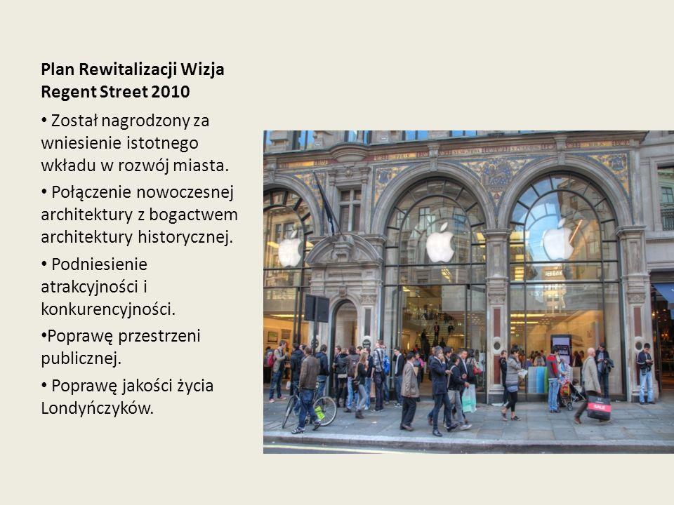 Plan Rewitalizacji Wizja Regent Street 2010