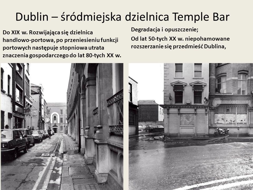 Dublin – śródmiejska dzielnica Temple Bar