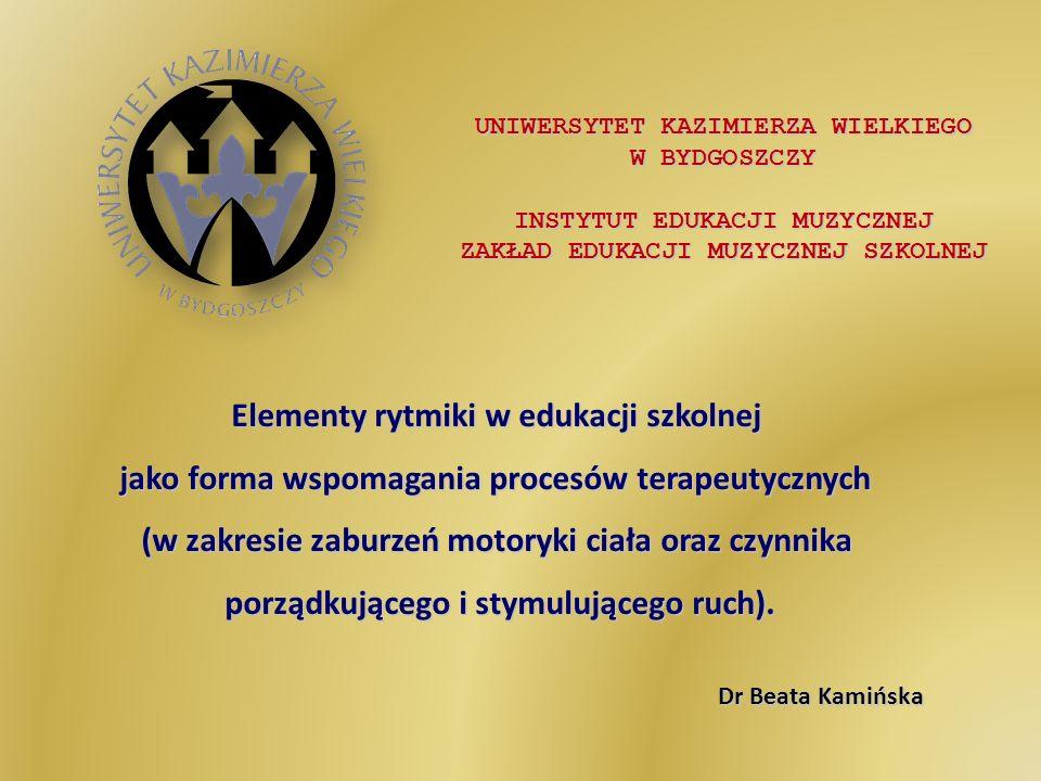 Elementy rytmiki w edukacji szkolnej