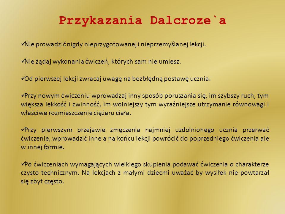 Przykazania Dalcroze`a