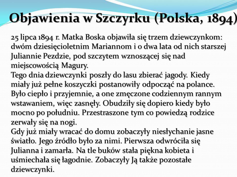 Objawienia w Szczyrku (Polska, 1894)