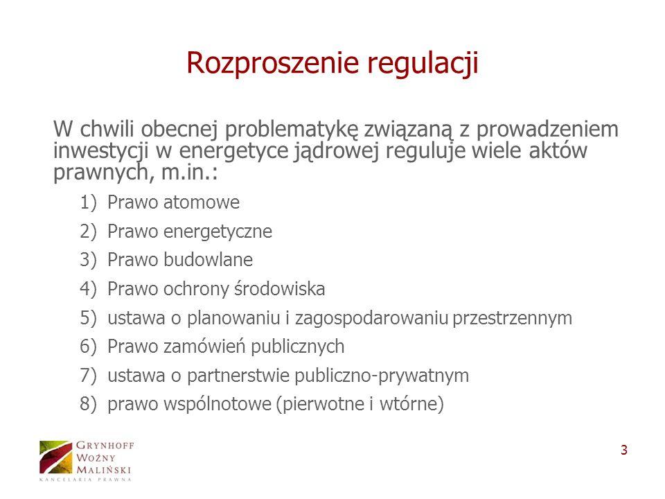 Rozproszenie regulacji