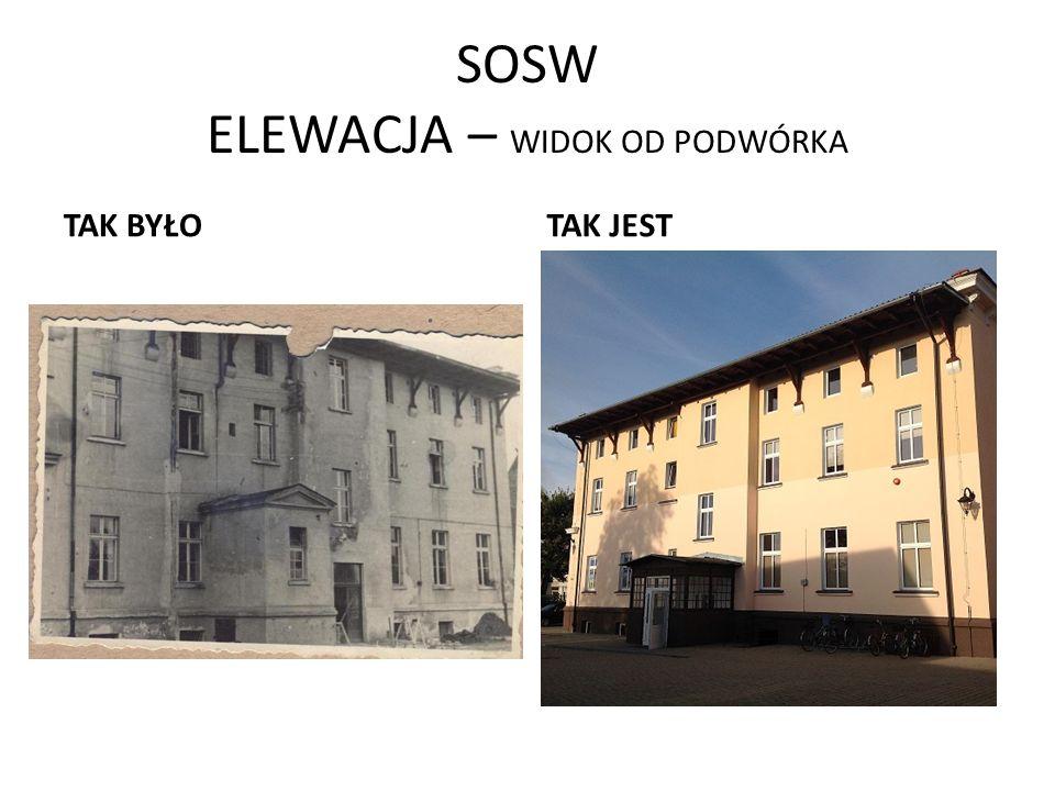SOSW ELEWACJA – WIDOK OD PODWÓRKA