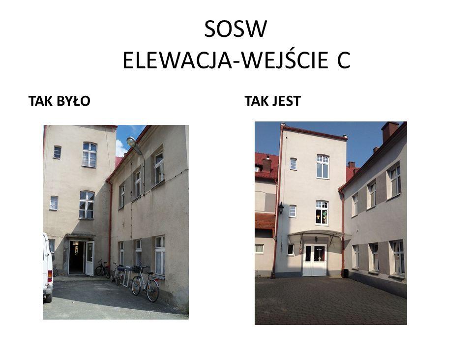 SOSW ELEWACJA-WEJŚCIE C