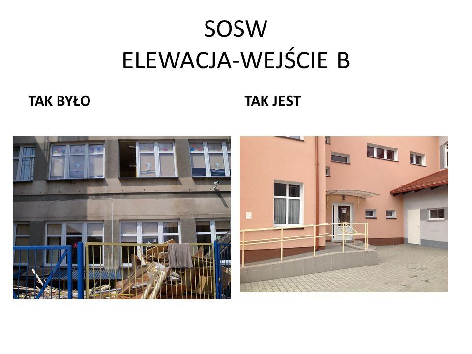 SOSW ELEWACJA-WEJŚCIE B
