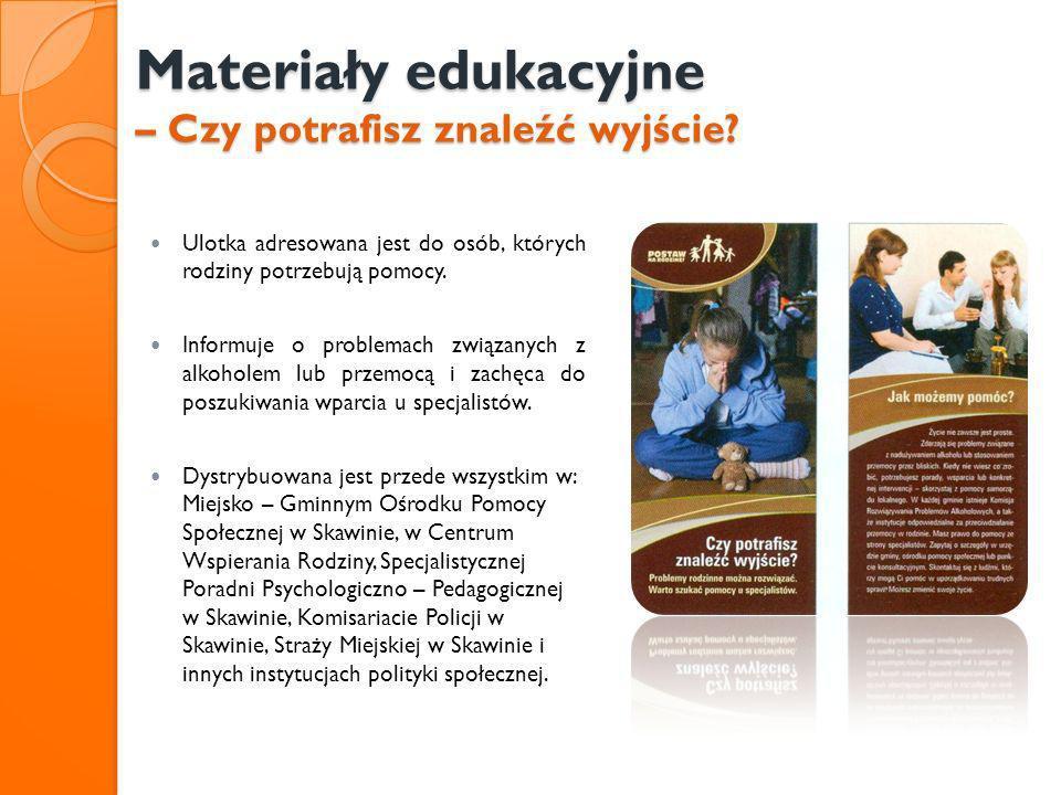 Materiały edukacyjne – Czy potrafisz znaleźć wyjście
