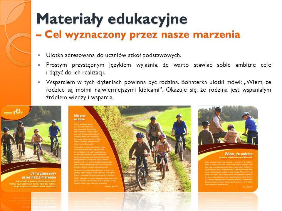 Materiały edukacyjne – Cel wyznaczony przez nasze marzenia
