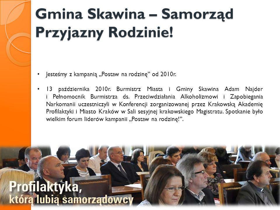 Gmina Skawina – Samorząd Przyjazny Rodzinie!