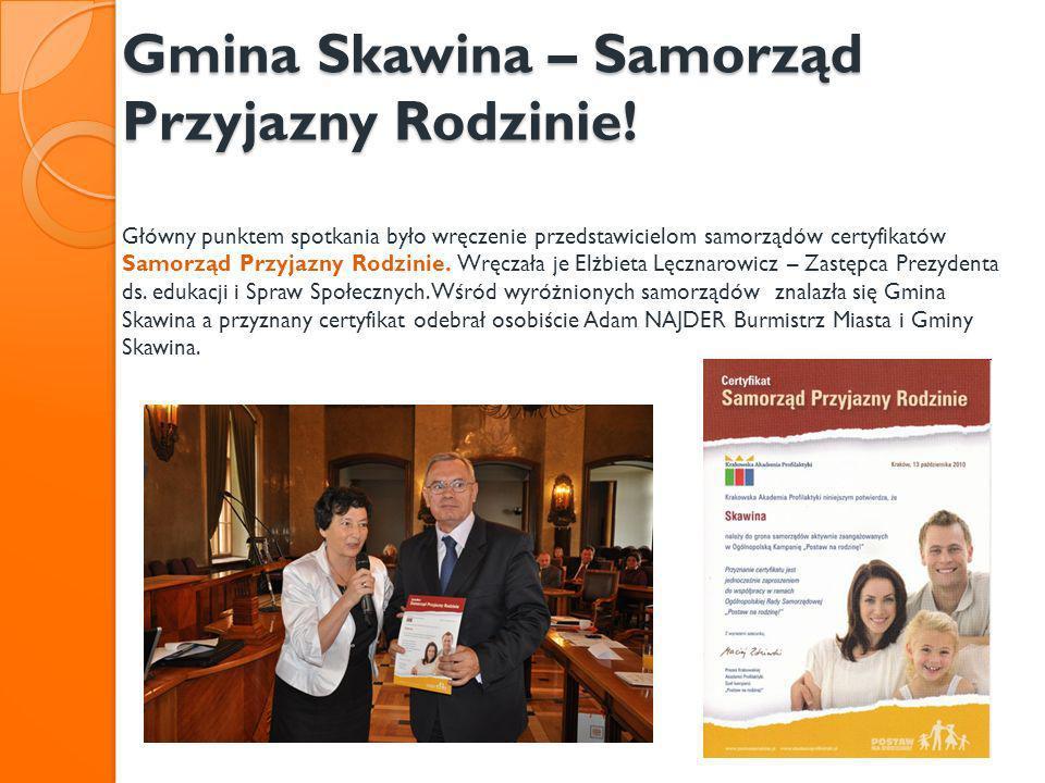 Gmina Skawina – Samorząd Przyjazny Rodzinie