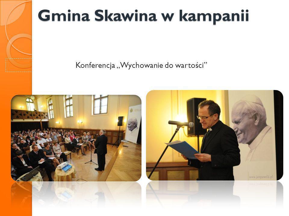 Gmina Skawina w kampanii