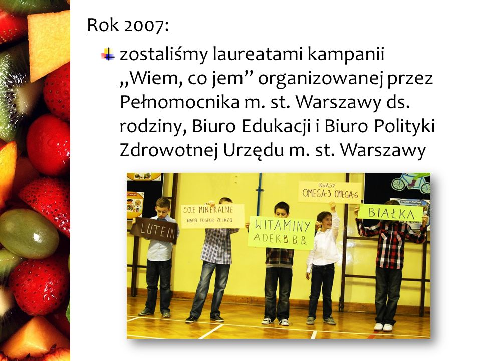 Rok 2007: