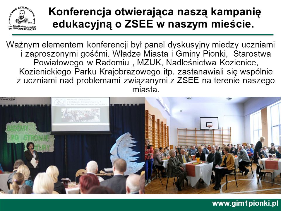 Konferencja otwierająca naszą kampanię