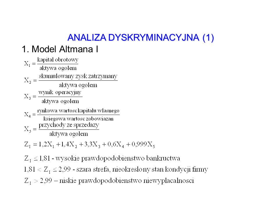ANALIZA DYSKRYMINACYJNA (1)
