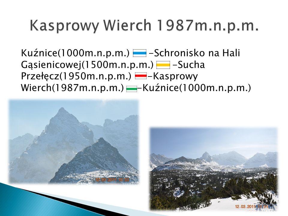 Kasprowy Wierch 1987m.n.p.m.