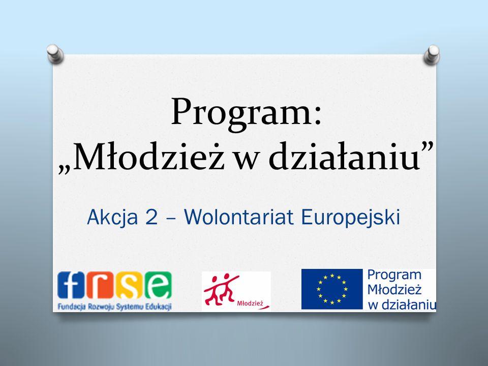 """Program: """"Młodzież w działaniu"""