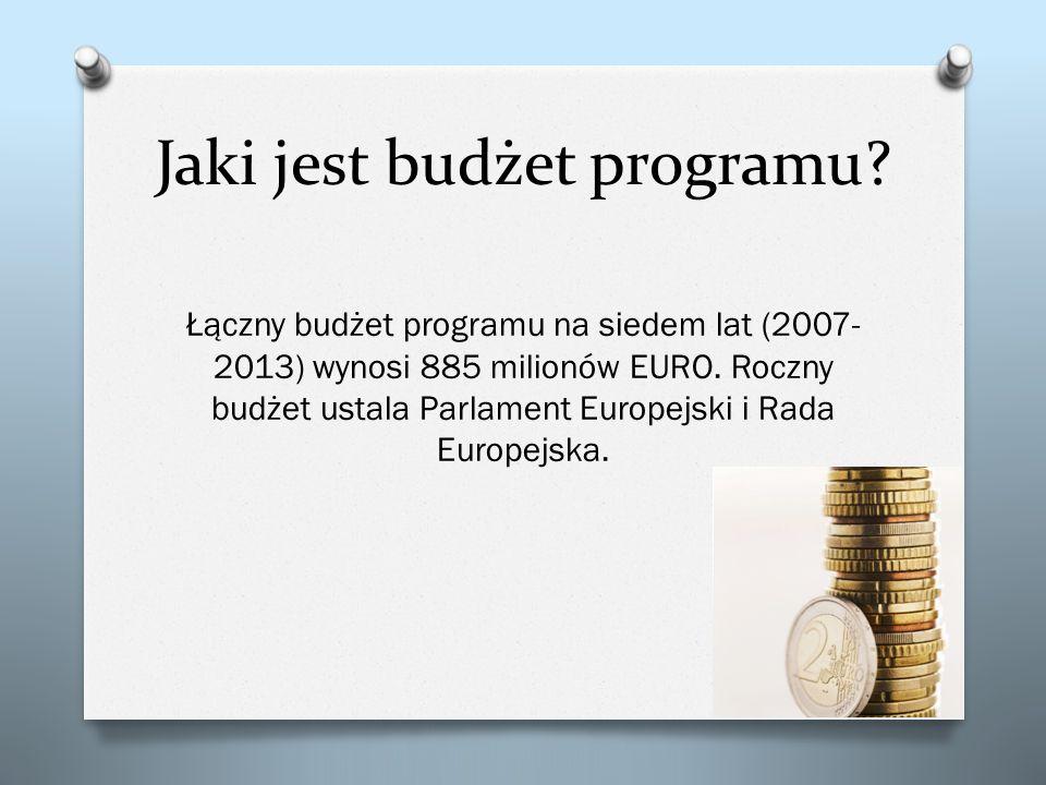 Jaki jest budżet programu
