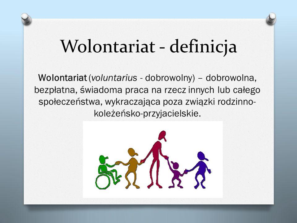 Wolontariat - definicja