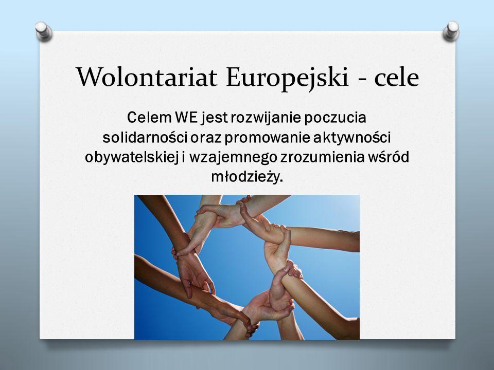 Wolontariat Europejski - cele