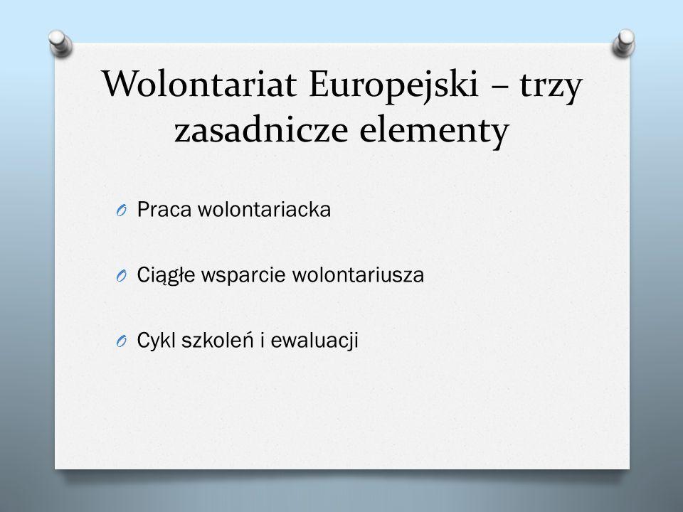 Wolontariat Europejski – trzy zasadnicze elementy