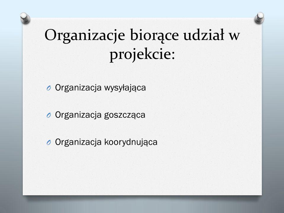 Organizacje biorące udział w projekcie: