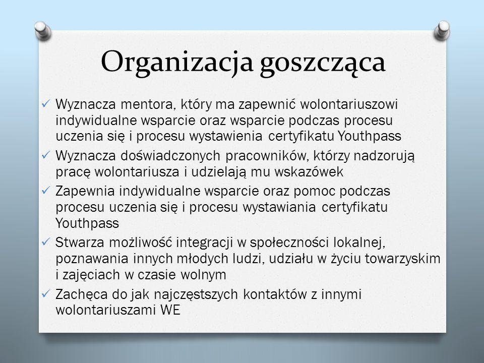 Organizacja goszcząca