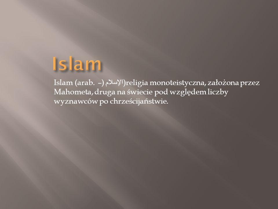 Islam Islam (arab.