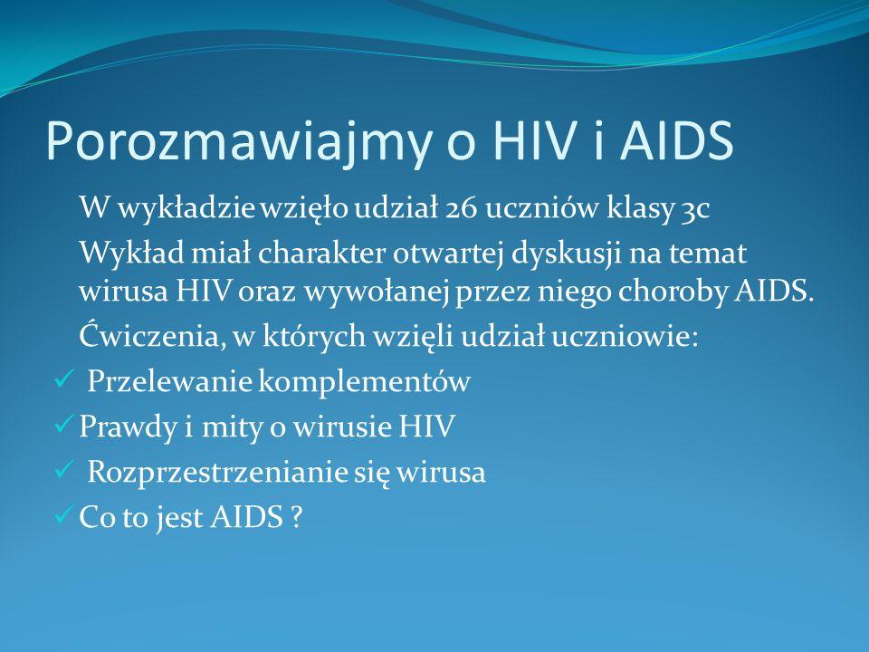 Porozmawiajmy o HIV i AIDS