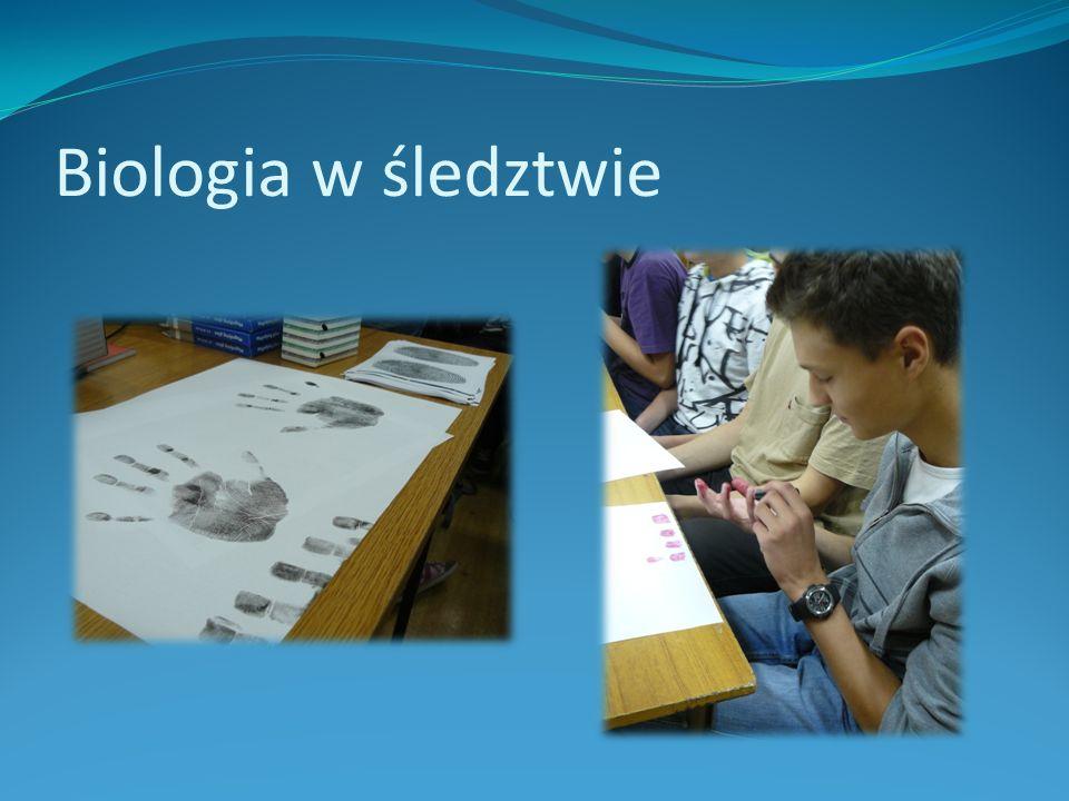 Biologia w śledztwie