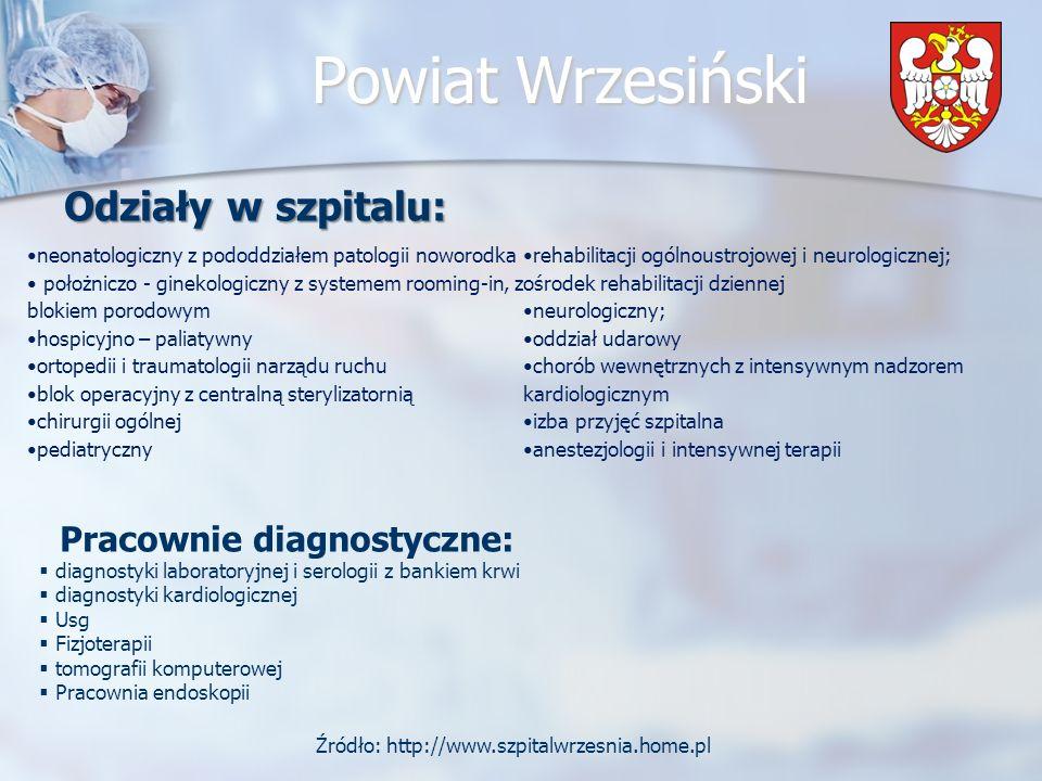 Źródło: http://www.szpitalwrzesnia.home.pl