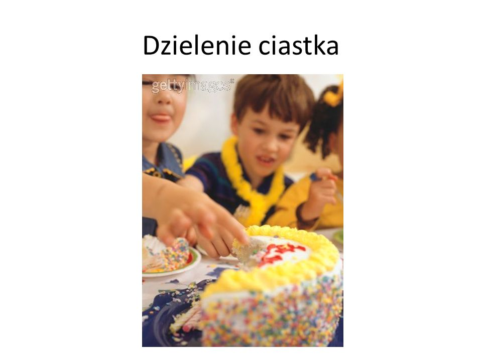 Dzielenie ciastka