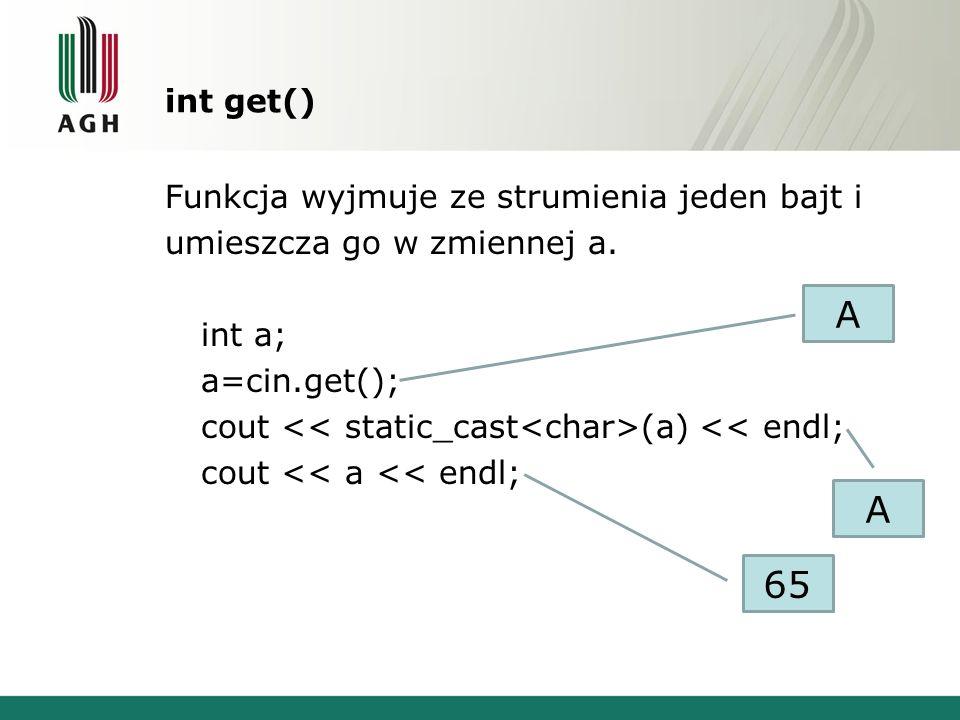 int get()