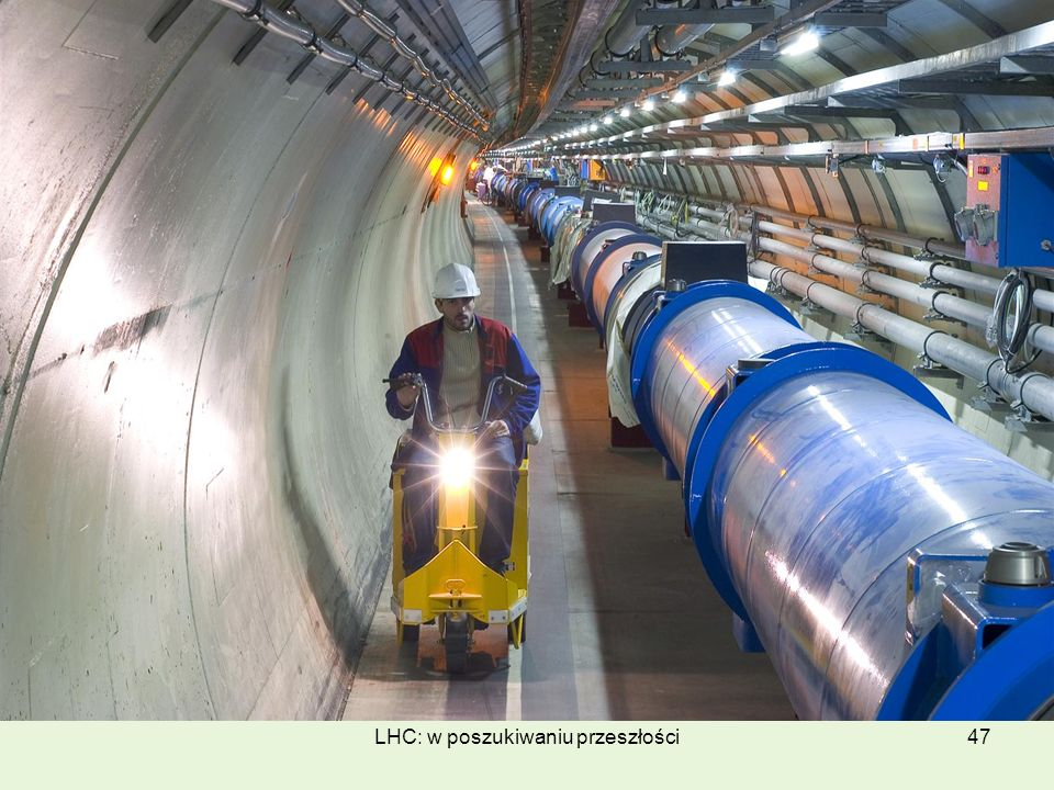 LHC: w poszukiwaniu przeszłości